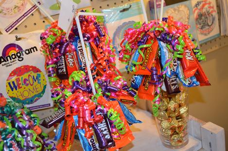 Candy Sundaes, Candy Bouquets, Manchester Iowa, Delivery, 52057, Regional Medical Center Manchester Iowa Valentine's Day Delivery, Posy, Posies, Blooms, Buttercup