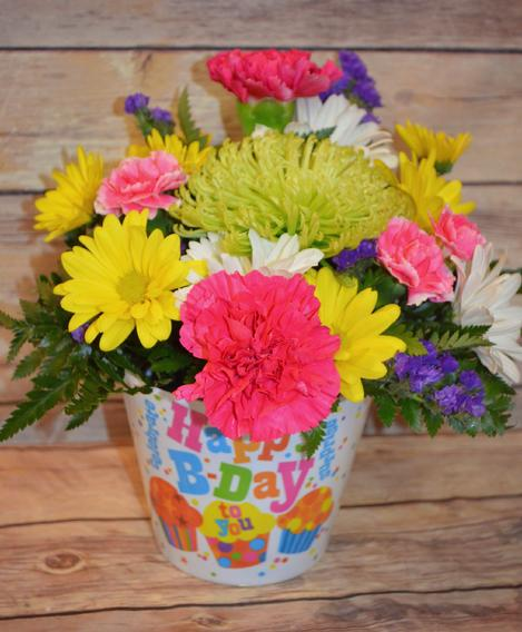 fresh flowers,birthday,manchester iowa,florist,local