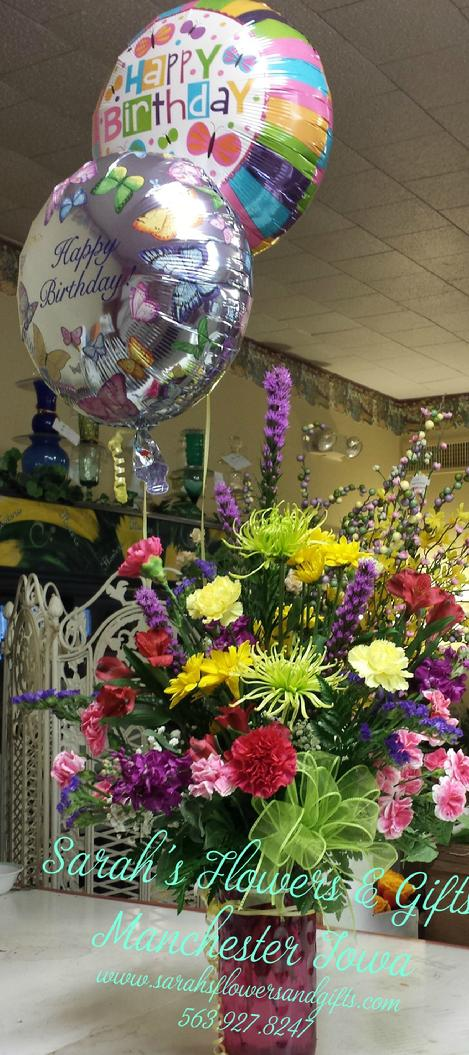Large fresh cut flower bouquets, birthday flowers, flowers for birthdays , manchesteR iowa 52057