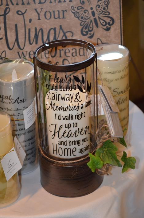 Lanterns, memorial lanterns, wakes, funerals, Leonard Muller Funeral Home, The Posy Place, Bohnenkamp Murdoch Funeral home, sympathy gifts Manchester Iowa 52057