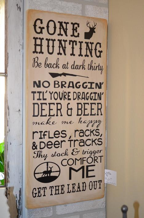 Custom Made Signs For Home